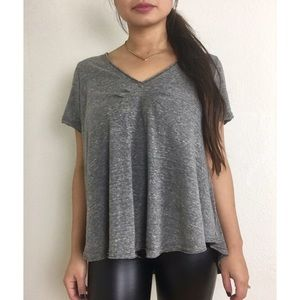 Free People We the Free   All You Need Gray Tee